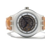 2001 Swatch Diaphane One Carousel Tourbillon