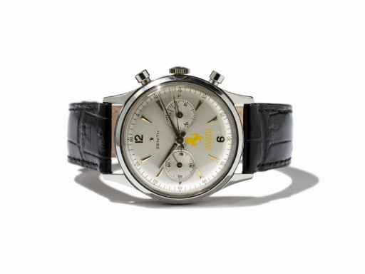 Could there really have been a Ferrari-branded Zenith watch in 1950?