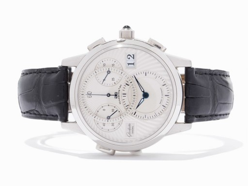 Look at this gorgeous platinum chronograph and tell me you don't want it!