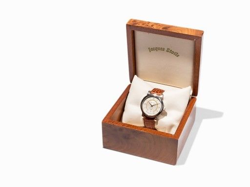 This limited-edition was hand made by German watchmaker Horst Jakob to celebrate 50 years at the trade
