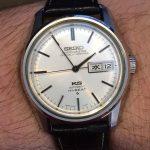 "Two King Seiko Hi-Beat ""56KS"" Chronometers"