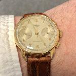 Levrette Chronograph: Classic Elegance